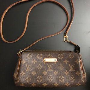 Louis Vuitton Eva brown monogram crossbody